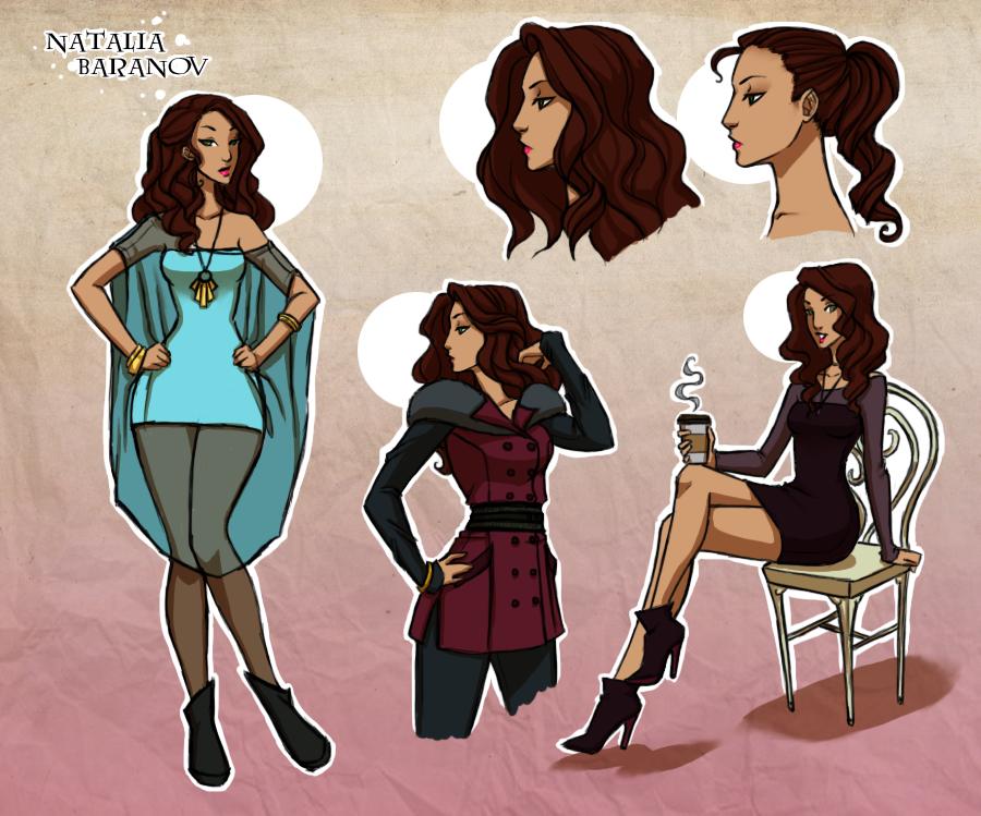 Character Design - Natalia